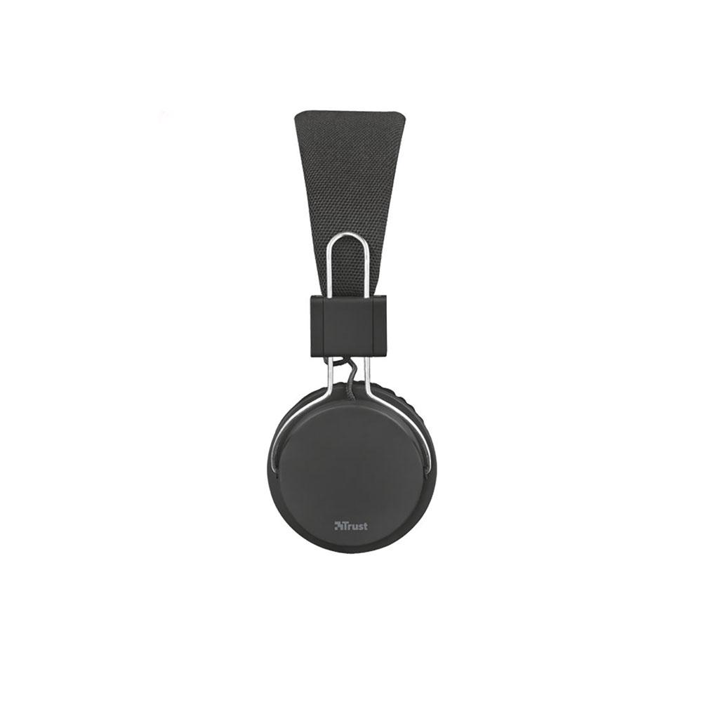 هدفون تراست مدل Ziva Foldable Black