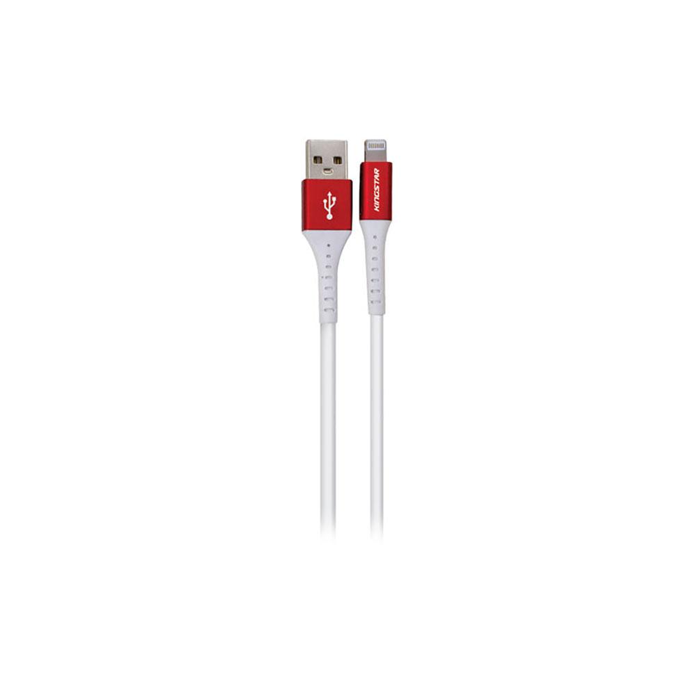 کابل تبدیل USB به لایتنینگ کینگ استار مدل k63i