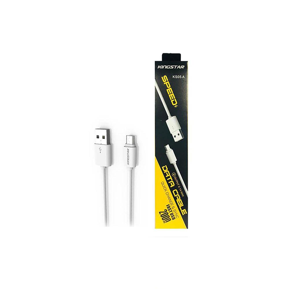 کابل تبدیل USB به microUSB کینگ استار مدل KS05 A