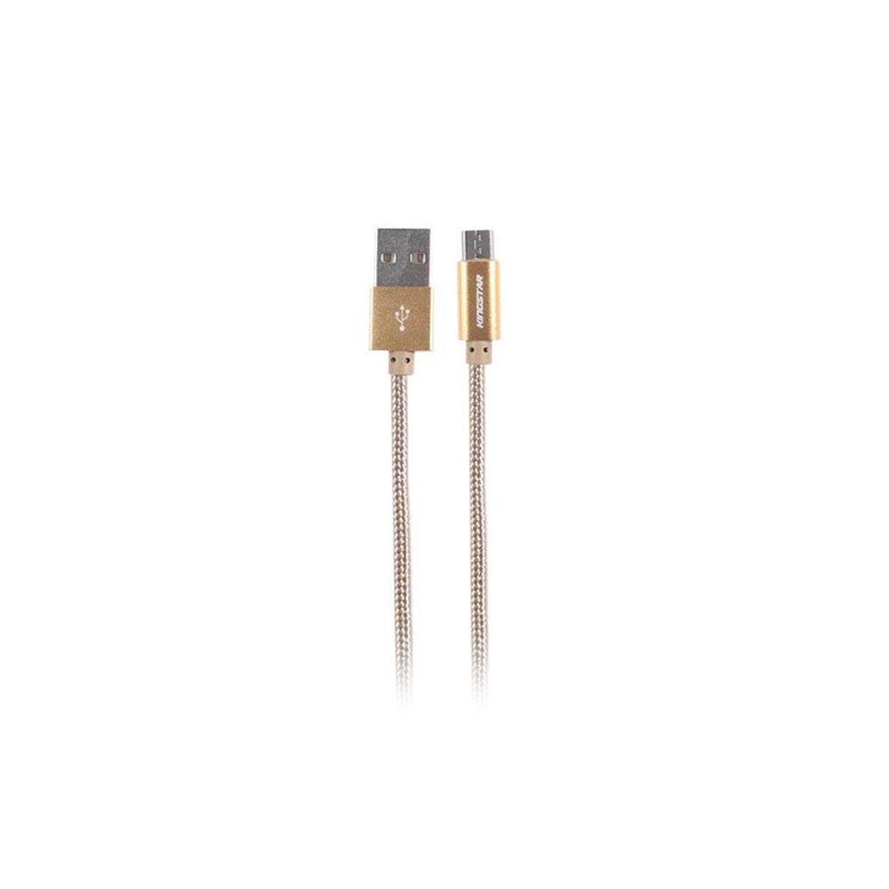 کابل تبدیل USB به microUSB کینگ استار مدل KS08A