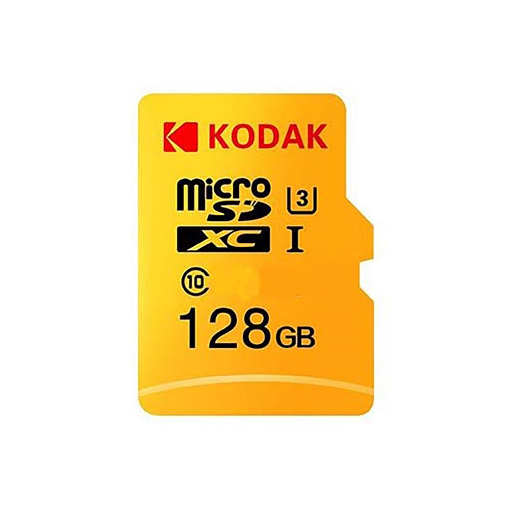 کارت حافظه microSDXC کداک مدل Premium Performance کلاس ۱۰ استاندارد UHS-I U1 سرعت ۸۵MBps ظرفیت ۱۲۸ گیگابایت